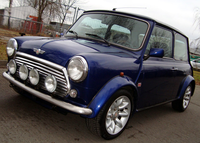 Mini Monza Projekt Restauration bei Classic Coopers